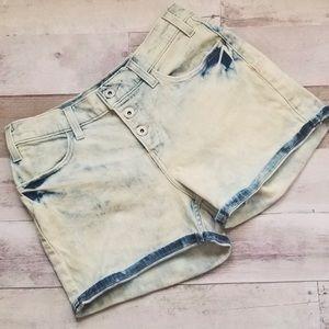 Levi's Jean shorts acid wash size 27 NWOT New